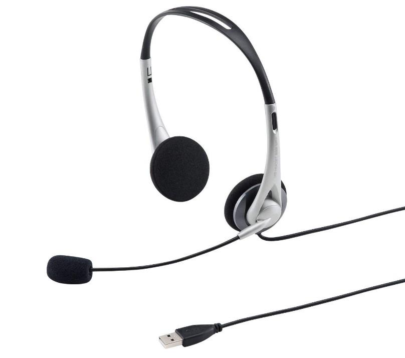 サンワサプライ USBヘッドセット/ヘッドホン