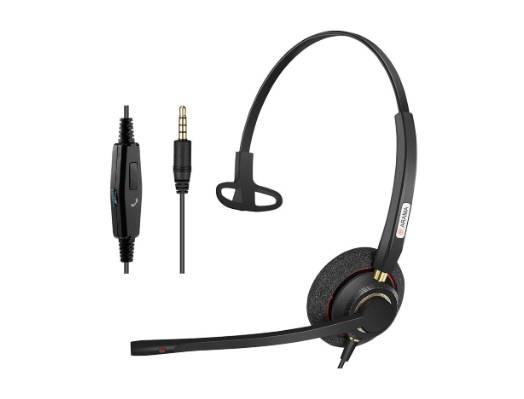 Arama ヘッドセット 片耳 3.5mm