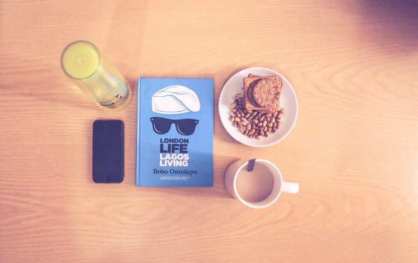 朝食とスケジュール帳