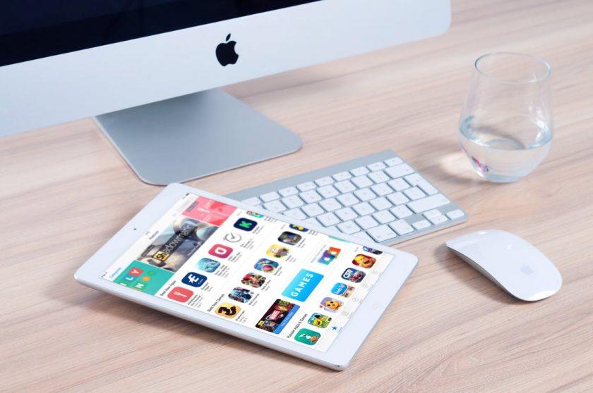 タブレットとアプリ