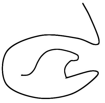 Rを発音するときの舌の形